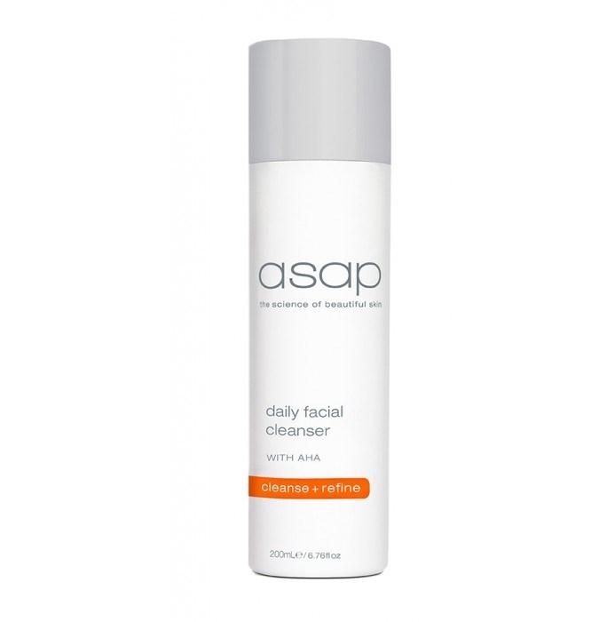 asap daily facial scrub
