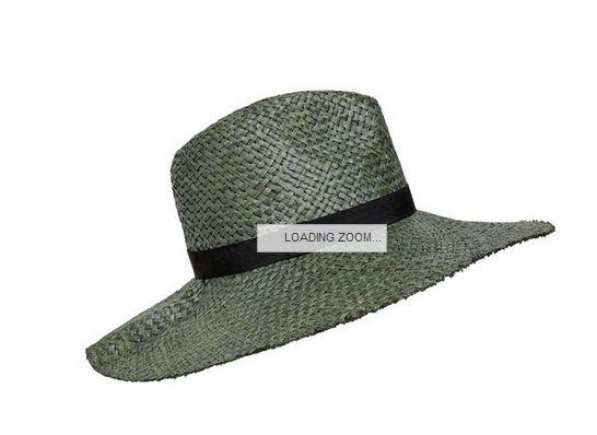 seed raffia hat